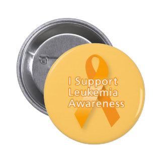 Apoyo conciencia de la leucemia pin