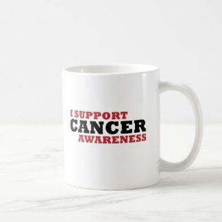 Apoyo conciencia del cáncer taza clásica