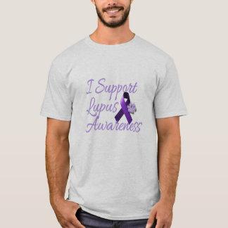 Apoyo conciencia del lupus playera