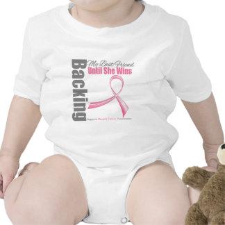 Apoyo de mi cáncer de pecho del mejor amigo camiseta