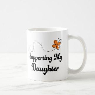 Apoyo de mi hija taza clásica