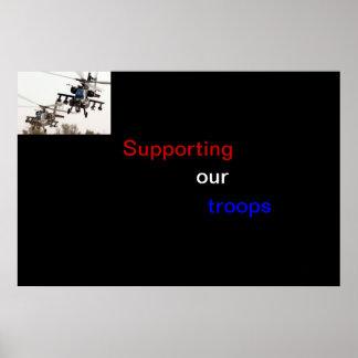 Apoyo de nuestras tropas impresiones