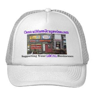Apoyo de sus negocios locales gorras de camionero