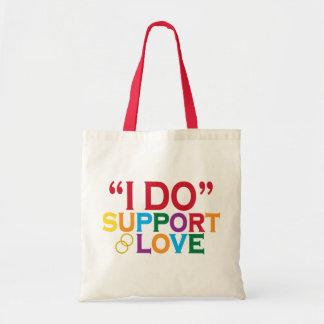 Apoyo el amor (apoyo 8) bolsa tela barata