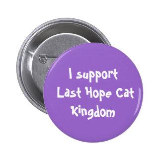 Apoyo el botón pasado de la esperanza pin