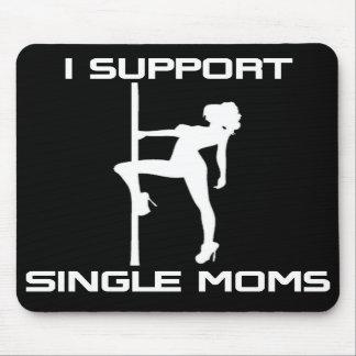 Apoyo el cojín de ratón de las madres solteras alfombrilla de ratones