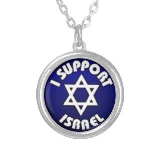 Apoyo Israel - estrella del מגןדוד de David Colgantes Personalizados