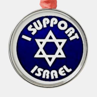 Apoyo Israel - estrella del מגןדוד de David Ornamento De Reyes Magos