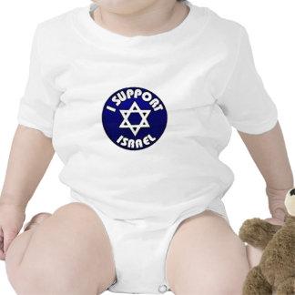 Apoyo Israel - estrella del מגןדוד de David Trajes De Bebé