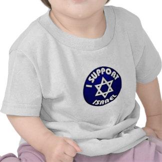 Apoyo Israel - estrella del מגןדוד de David Camiseta