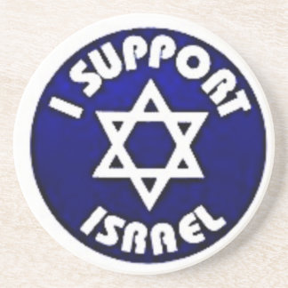 Apoyo Israel - estrella del מגןדוד de David Posavaso Para Bebida