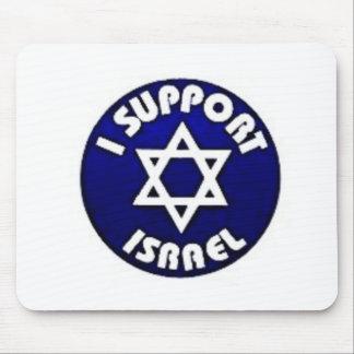 Apoyo Israel - estrella del מגןדוד de David Tapete De Raton