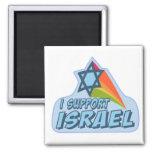 Apoyo Israel - orgullo judío israelí Imán De Nevera