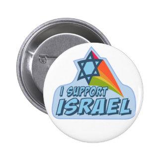 Apoyo Israel - orgullo judío israelí Pins