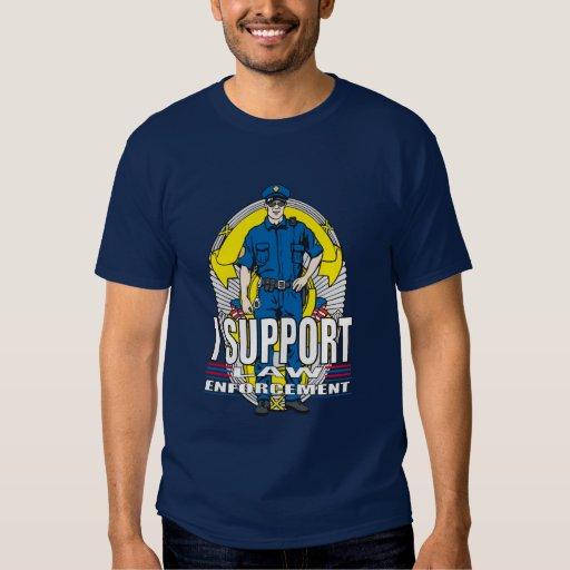 Apoyo la aplicación de ley camisas