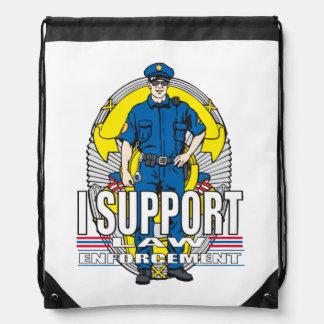 Apoyo la aplicación de ley mochila
