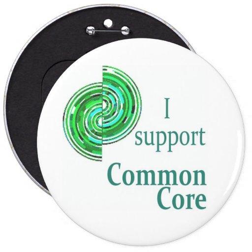 Apoyo la base común, botón redondo de los 6in pin redondo de 6 pulgadas