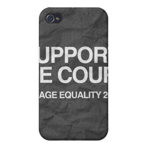 APOYO LA CORTE - .PNG iPhone 4 FUNDAS