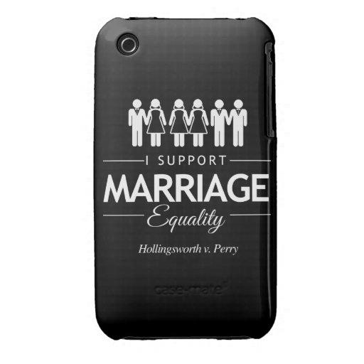 APOYO LA DECISIÓN DEL TRIBUNAL DE LA IGUALDAD DE L iPhone 3 CÁRCASAS