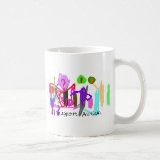 Apoyo la taza del autismo