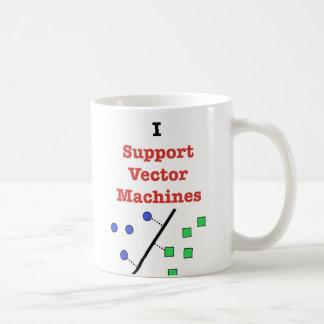 Apoyo las máquinas del vector taza clásica