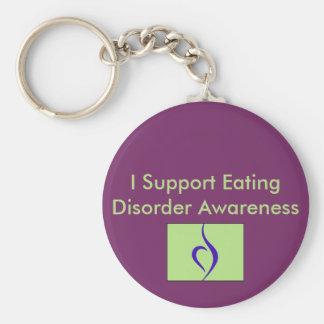 Apoyo llavero de la conciencia del trastorno