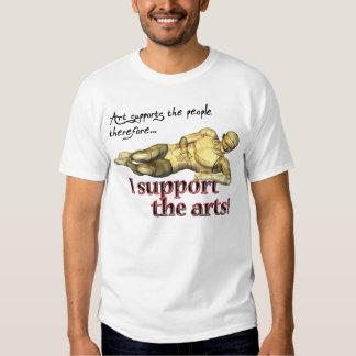 Apoyo los artes, por GalleryGifts Remera