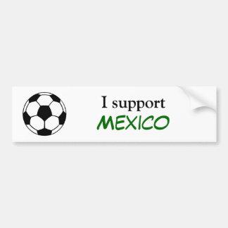 Apoyo México Etiqueta De Parachoque