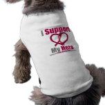 Apoyo mi anemia de la célula falciforme del héroe camisa de perro