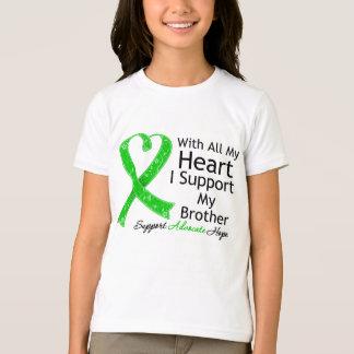 Apoyo mi Brother con todo mi corazón Playera