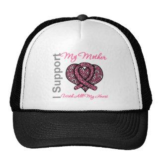 Apoyo mi conciencia del cáncer de pecho de la madr gorras