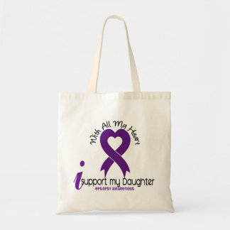 Apoyo mi epilepsia de la hija bolsa tela barata