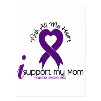 Apoyo mi epilepsia de la mamá postal