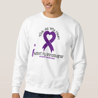 Apoyo mi epilepsia de la nieta sudadera