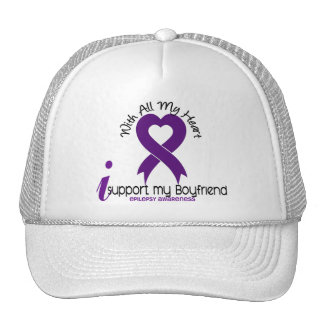 Apoyo mi epilepsia del novio gorros