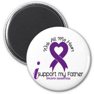 Apoyo mi epilepsia del padre imán