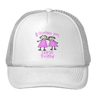 apoyo mi gorra del cáncer de pecho del mejor amigo