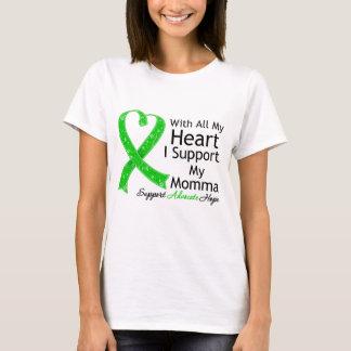 Apoyo mi Momma con todo mi corazón Playera