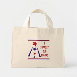 Apoyo nuestro bolso de las tropas bolsa