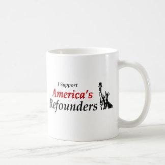 Apoyo Refounders de América Tazas