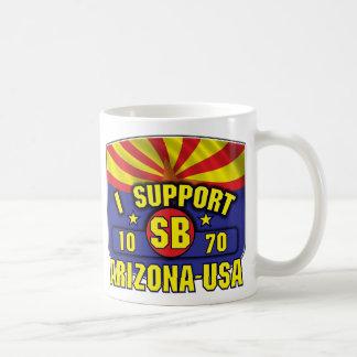 Apoyo SB1070 - Arizona los E.E.U.U. Tazas