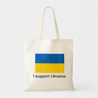 Apoyo Ucrania Bolsa Tela Barata