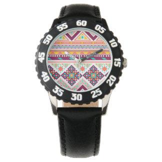 Apoyo valeroso del wow vivaz reloj de mano