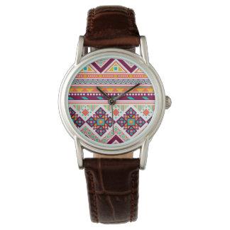 Apoyo valeroso del wow vivaz relojes de mano