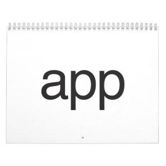 app wall calendars