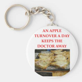 app;e turnover keychain