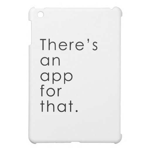 App for that iPad mini covers
