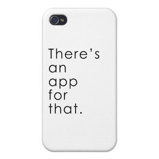 App for that iPhone 4/4S covers