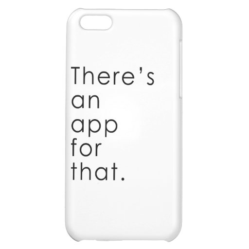 App for that iPhone 5C case