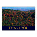 Appalachains in Fall Thank You Card (Blank Inside)